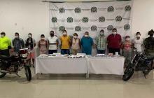 Desmantelada banda dedicada al expendio de droga en Montería