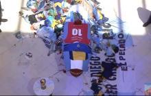 Miles de personas despidieron a Diego Maradona en la Casa Rosada