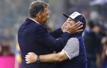 Russo recuerda con tristeza la última vez que vio a Maradona en la cancha de Boca.