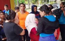 Familiares de 16 niños venezolanos a la espera de decisión de Trinidad Tobago