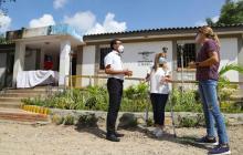 Gobernadora supervisa obras del hospital y dos puestos de salud en Tubará