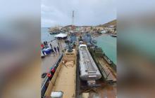 Buque de EEUU llega a Colombia para transportar ayudas a isla de Providencia