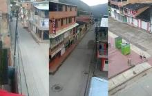 Pueblos fantasmas por paro armado del Eln en Cauca