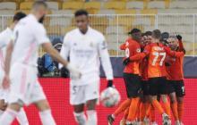 Shakhtar 2,  Real Madrid 0: de mal en peor