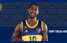 Tonny Trocha Morelos, nuevo jugador de Boca.