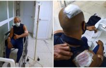 Instructor de gimnasio es herido a puñal en un atraco