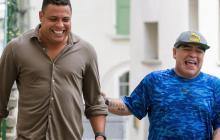 El astro brasileño defiende a capa y espada la figura de Maradona.