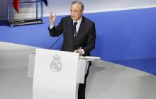 Florentino Pérez, presidente del Real Madrid.