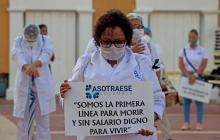 En el Día del Médico, colombianos piden más condiciones para atender pandemia