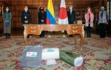 Gobierno de Japón apoyará a los colombianos damnificados por el Huracán Iota