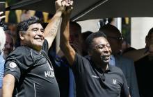 El exfutbolista brasileño aseguró que su gran amigo es 'una verdadera leyenda'.