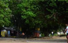 Cancha conocida como Envigado, ubicada en la carrera 14 con calle 41 del barrio Pumarejo, en Soledad.