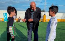 El árbitro de la 'mano de Dios' homenajea a Diego Maradona