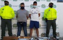 Detenidos con las armas que le facilitaban a delincuentes