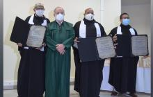La humildad, característica de los nuevos doctores de Unisucre
