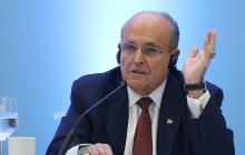 Rudy Giuliani, abogado personal del presidente.