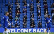 Tras 271 días, el público retornó a la Premier League.