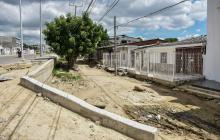 Vecinos de La Sierrita, afectados por obras
