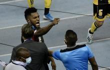 Conato de bronca entre Borja y algunos jugadores de Coquimbo