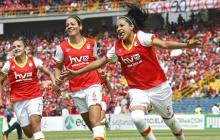 América y Santa Fe se pelean el título de la Liga Femenina