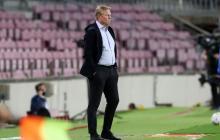 Koeman firma el peor estreno como técnico del Barcelona desde Rijkaard