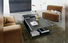 Mesas de centro, articuladoras de espacios en el hogar
