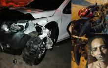 Grave motociclista arrollado presuntamente por 'El Palomo'