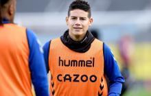 James Rodríguez, baja ante el Chelsea por lesión