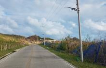 Los escombros y desechos ya han sido retirados de las vías en Providencia.