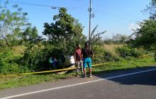 Camioneta se salió de la vía entre Sabanalarga y Campeche: cuatro heridos