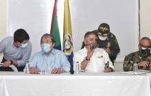 Mindefensa está en Maicao y preside consejo de seguridad