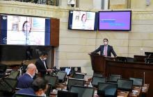 Senado aprobó en bloque más de la mitad del Código Electoral