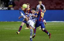 El Barcelona luce, sufre y gana ante la Real Sociedad