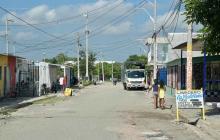 Lugar de los hechos, barrio Las Malvinas
