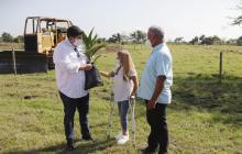 Convenio para ayuda técnica a campesinos