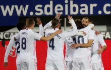 Real Madrid vence con solidez al Eibar y mantiene presión sobre el Atlético