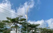 ¿Quién se roba las luminarias en Barranquilla?