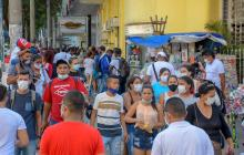 Tasa de positividad en Barranquilla está en el 15.2%