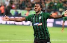 Hugo Rodallega le da el triunfo al Denizlispor con doblete