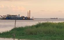 Fuertes vientos han impedido trabajos de dragado del canal de acceso