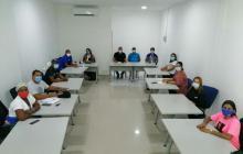 Air-e adelantó mesa de trabajo con ediles del suroccidente de Barranquilla