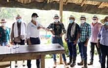 Tekia S.A.S. le devolvió los predios a familias en San Onofre