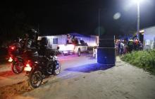 Operativo de la Policía en Malambo.