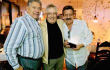 Alberto Jiménez, Armando Plata y Humberto Lunastar
