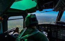Así vigila la Fuerza Aérea el Atlántico durante las fiestas decembrinas