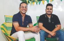 Juan Echeverría y  Jair Pacheco: del  barrio a la gastronomía