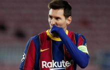 Lionel Messi, delantero del FC Barcelona.
