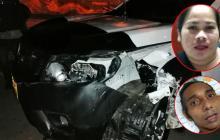 Víctima de accidente pide a  'El Palomo' que responda