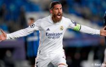 Sergio Ramos, duda en el Real Madrid para primer juego de 2021