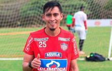 Fabián Sambueza en su primera etapa en Junior.